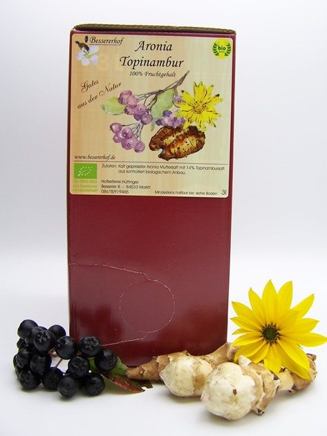 Aronia-Topinambursaft 3L